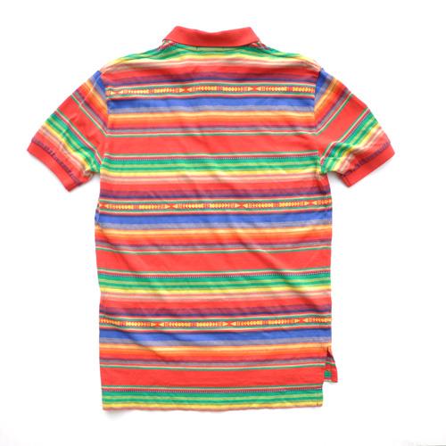 POLO RALPH LAUREN /ポロラルフローレン マルチボーダー半袖ポロシャツ 2カラー - 2
