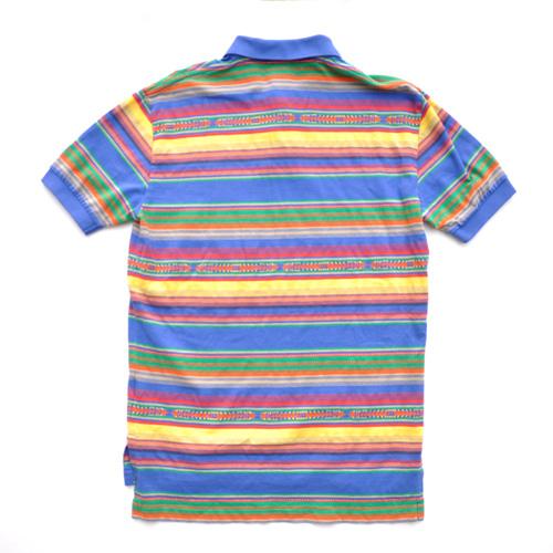 POLO RALPH LAUREN /ポロラルフローレン マルチボーダー半袖ポロシャツ 2カラー - 3