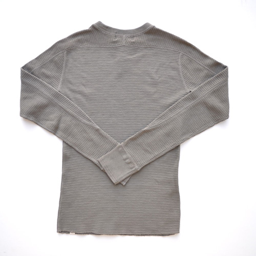 RRL/ダブルアールエル ミリタリーワッフルロングスリーブTシャツ - 1