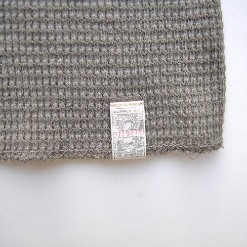 RRL/ダブルアールエル ミリタリーワッフルロングスリーブTシャツ - 2