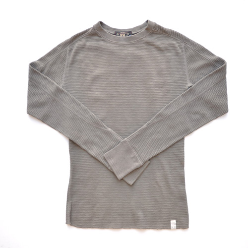 RRL/ダブルアールエル ミリタリーワッフルロングスリーブTシャツ