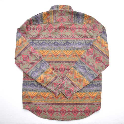 DENIM&SUPPLY/デニム&サプライ 長袖ネイティブシャツ - 1