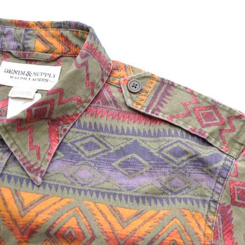 DENIM&SUPPLY/デニム&サプライ 長袖ネイティブシャツ - 2
