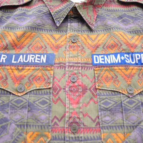 DENIM&SUPPLY/デニム&サプライ 長袖ネイティブシャツ - 4
