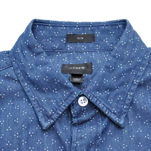J.CREW/ジェイクルー インディゴボタンダウンシャツ - 4