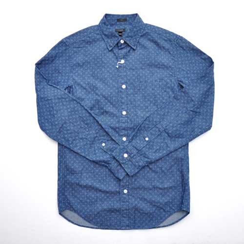 J.CREW/ジェイクルー インディゴボタンダウンシャツ