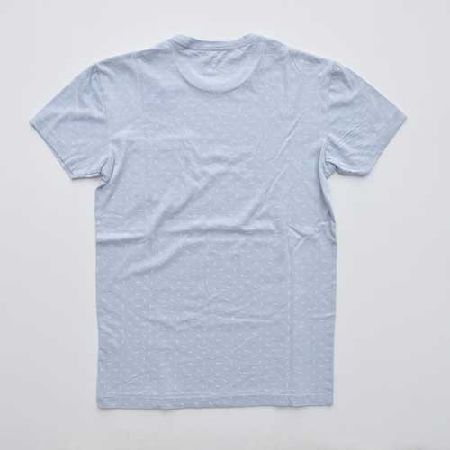 J.CREW/ジェイクルー ポケット付き総柄半袖Tシャツ - 1