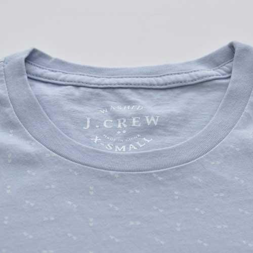 J.CREW/ジェイクルー ポケット付き総柄半袖Tシャツ - 3