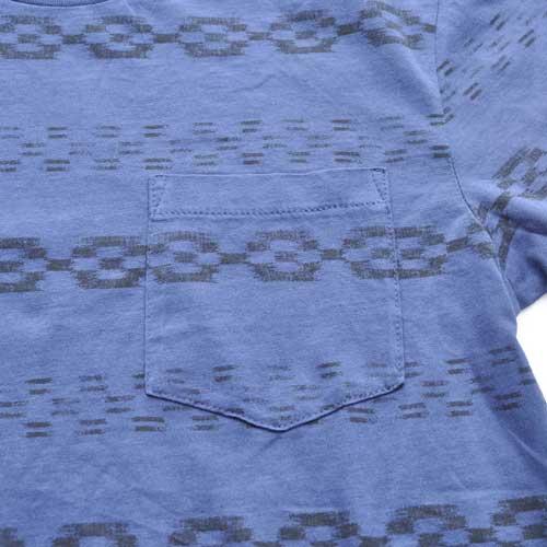 J.CREW/ジェイクルー ネイティブボーダー半袖ポケット付Tシャツ - 2