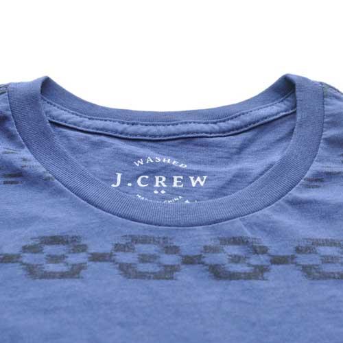 J.CREW/ジェイクルー ネイティブボーダー半袖ポケット付Tシャツ - 3