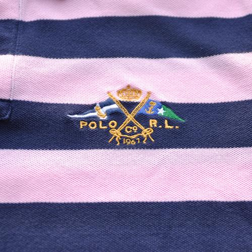 POLO RALPH LAUREN/ラルフローレン 半袖ボーダーポロシャツ - 3