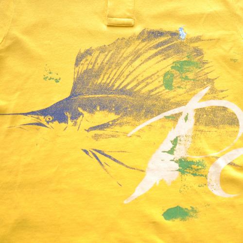 POLO RALPH LAUREN/ラルフローレン ステンシルプリント半袖ポロシャツ - 2