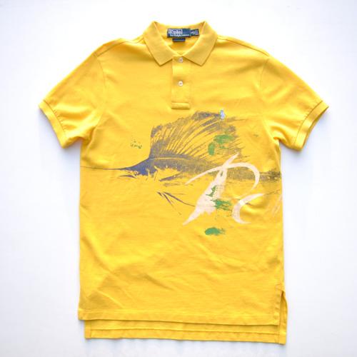 POLO RALPH LAUREN/ラルフローレン ステンシルプリント半袖ポロシャツ - 4
