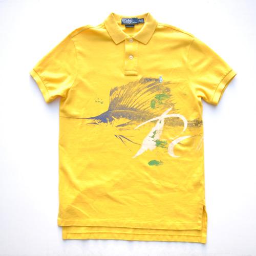 POLO RALPH LAUREN/ラルフローレン ステンシルプリント半袖ポロシャツ