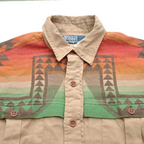 RALPH LAUREN/ポロラルフローレン カスタム サウスウエスタン ワークシャツ - 2