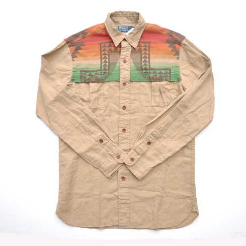 RALPH LAUREN/ポロラルフローレン カスタム サウスウエスタン ワークシャツ
