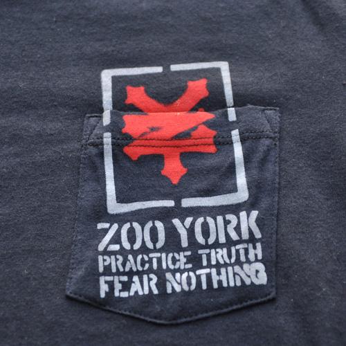 ZOO YORK/ズーヨーク ポケット付半袖Tシャツ - 4