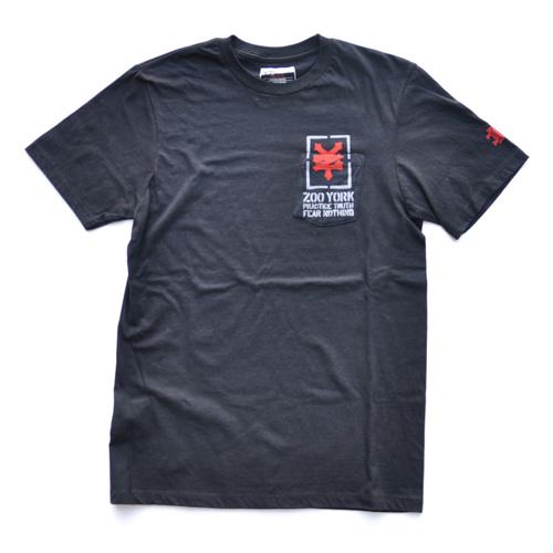 ZOO YORK/ズーヨーク ポケット付半袖Tシャツ