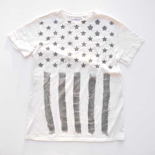 DENIM&SUPPLY/デニム&サプライ アメリカン フラッグ グラフィック半袖Tシャツ