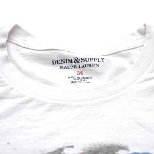 DENIM&SUPPLY/デニム&サプライ フロントプリント半袖Tシャツ - 3