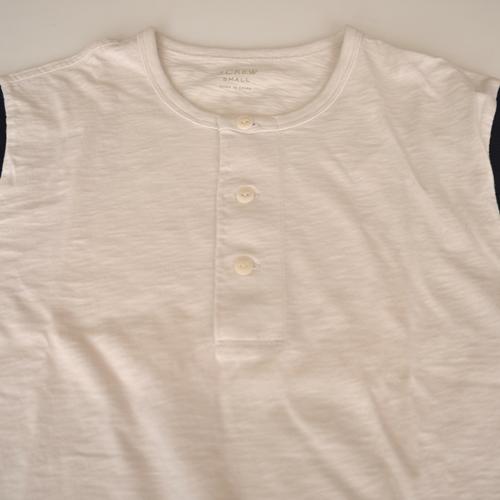 J.CREW/ジェイクルー ヘンリーネック半袖Tシャツ - 2