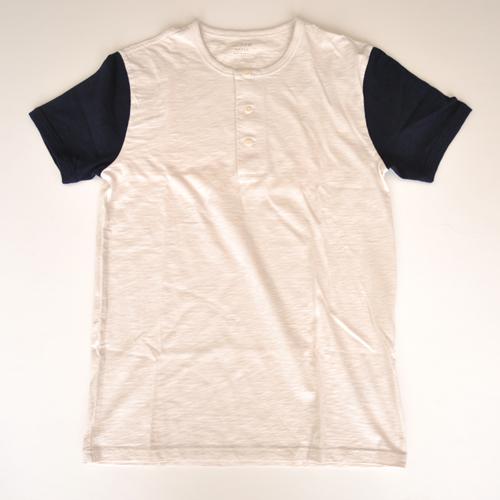 J.CREW/ジェイクルー ヘンリーネック半袖Tシャツ