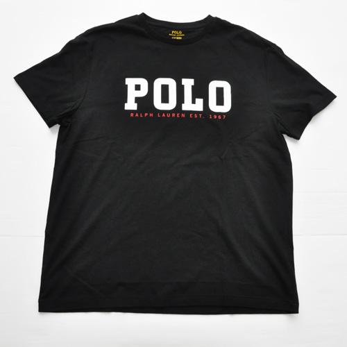 POLO RALPH LAUREN /ラルフローレン POLOプリント半袖Tシャツ BIG SIZE
