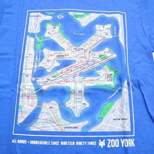 ZOO YORK/ズーヨーク 半袖Tシャツ ブルー - 2