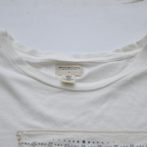 DENIM&SUPPLY/デニム&サプライ 半袖バンダナTシャツ - 2