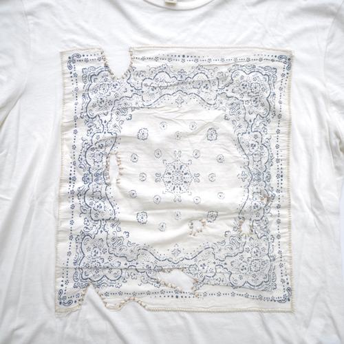 DENIM&SUPPLY/デニム&サプライ 半袖バンダナTシャツ - 3