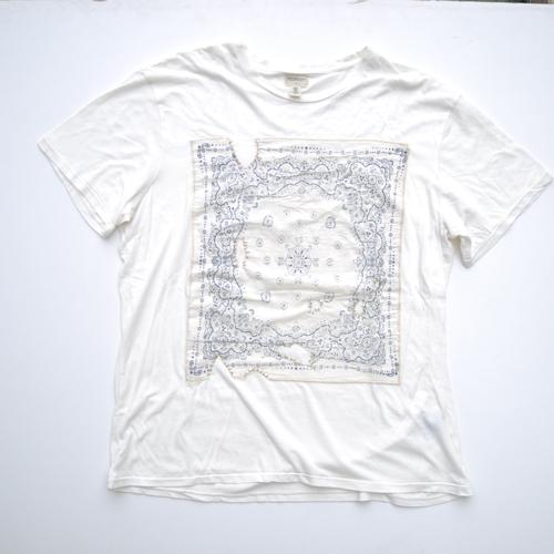 DENIM&SUPPLY/デニム&サプライ 半袖バンダナTシャツ