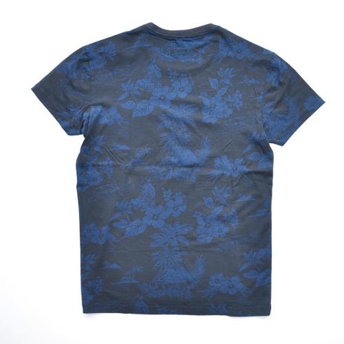 J.CREW/ジェイクルー 半袖ポケット付フローラルTシャツ - 1