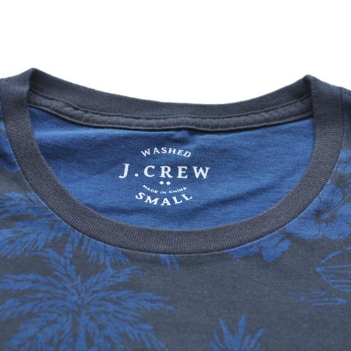 J.CREW/ジェイクルー 半袖ポケット付フローラルTシャツ - 3