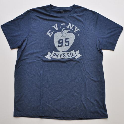 J.CREW/ジェイクルー フロントプリント半袖Tシャツ
