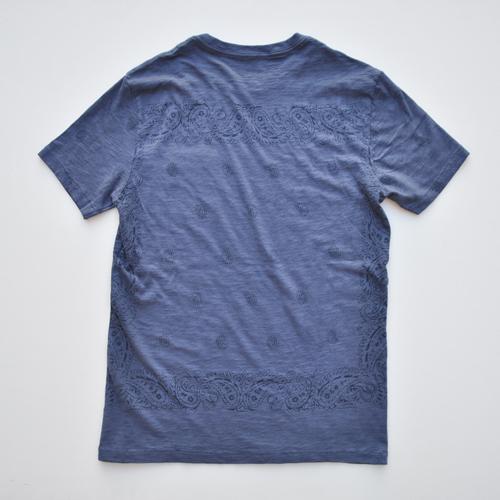 J.CREW/ジェイクルー ペイズリー半袖Tシャツ - 1