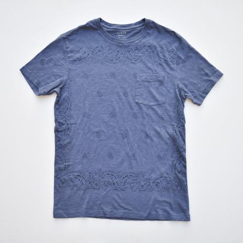J.CREW/ジェイクルー ペイズリー半袖Tシャツ - 3