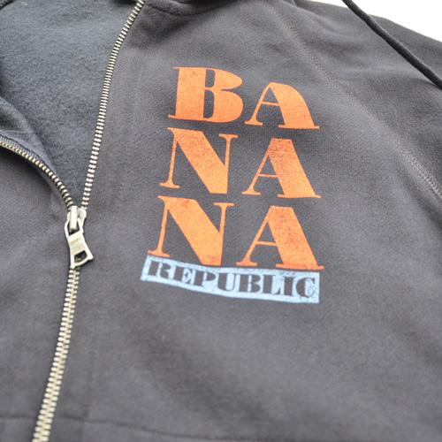 BANANA REPUBLIC/バナナリパブリック フロントプリントジップパーカ - 3