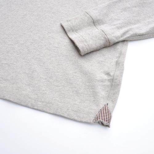 DESIGUAL/デシグアル フロントフェルト加工プリントロングスリーブTシャツ - 2