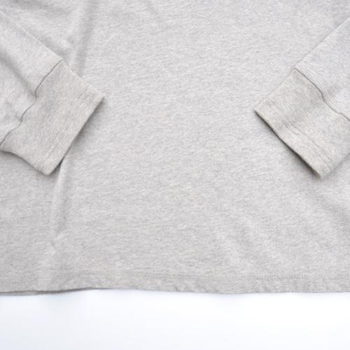 DESIGUAL/デシグアル フロントフェルト加工プリントロングスリーブTシャツ - 3