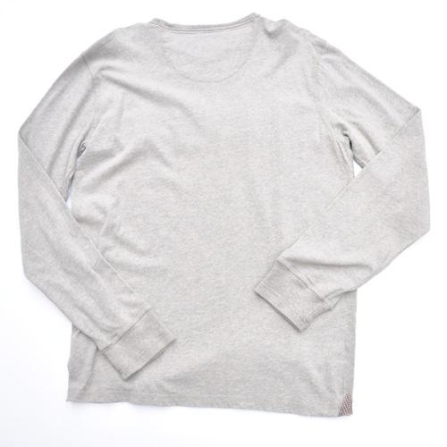DESIGUAL/デシグアル フロントフェルト加工プリントロングスリーブTシャツ - 4