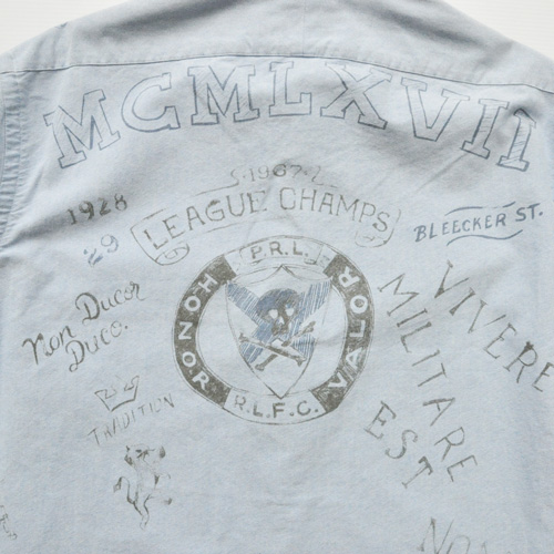 POLO RALPH LAUREN / ポロラルフローレン モノグラムシャンブレーシャツ - 6