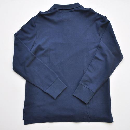 OLD NAVY/オールドネイビー フロントパッチワークロングスリーブポロシャツ - 1