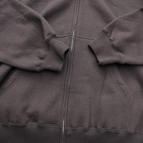 STAPLE/ステイプル フロント刺繍プリントジップアップフードパーカ - 3