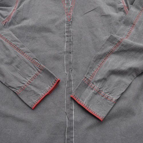 BROOKLYN INDUSTRIES/ブルックリンインダストリーズ ロングスリーブボタンシャツ - 3