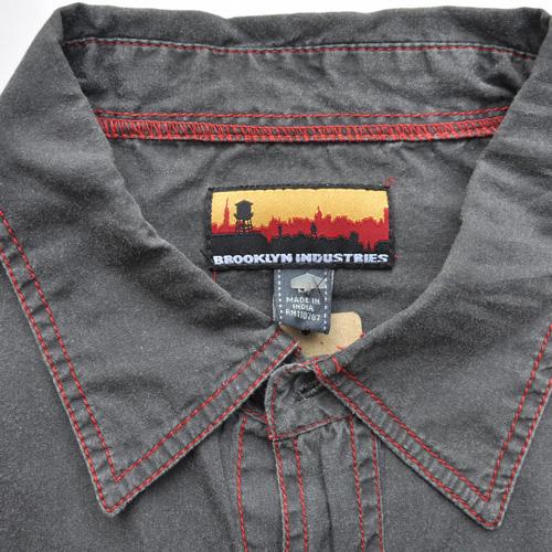 BROOKLYN INDUSTRIES/ブルックリンインダストリーズ ロングスリーブボタンシャツ - 2