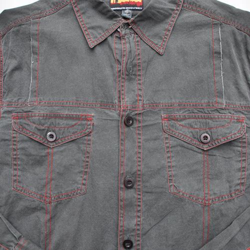 BROOKLYN INDUSTRIES/ブルックリンインダストリーズ ロングスリーブボタンシャツ - 4
