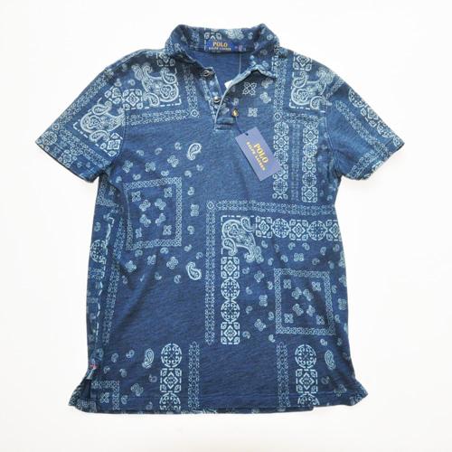 POLO RALPH LAUREN / ポロラルローレン ペイズリーポロシャツ