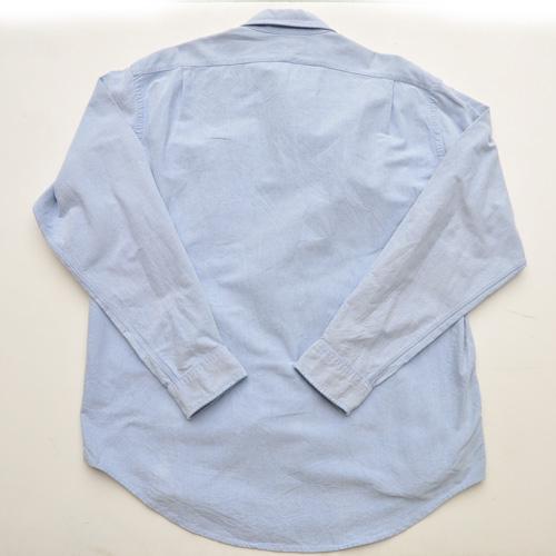 RRL /ダブルアールエル シャンブレーロングスリーブシャツ USED - 1