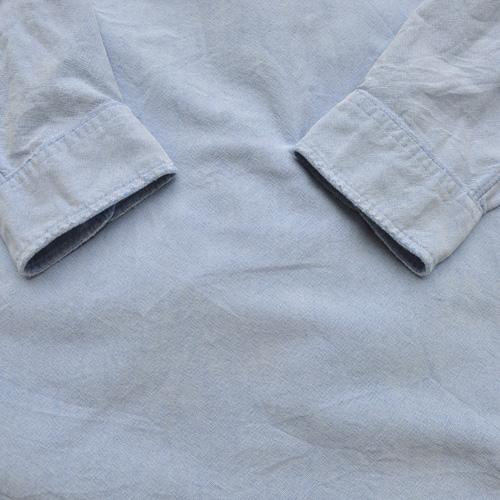 RRL /ダブルアールエル シャンブレーロングスリーブシャツ USED - 4
