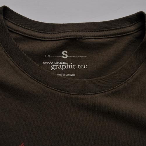 BANANA REPUBLIC/バナナリパブリック グラフィック半袖Tシャツ - 2